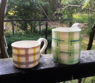 Keramik og porcelæn fra Anholt Gartneri