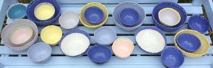 Porcelæn fra Anholt Gartneri