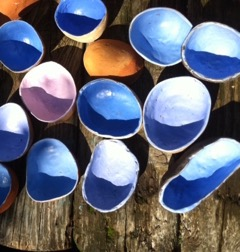 Skåle i porcelæn fra Anholt Gartneri