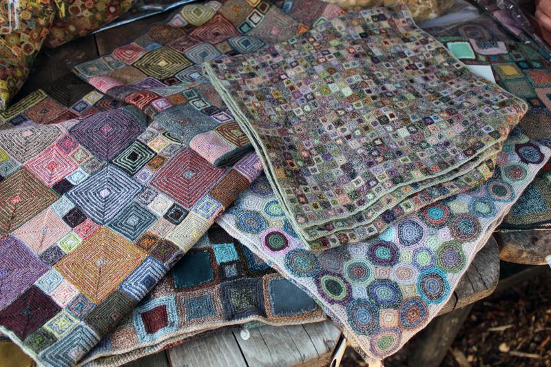 Tørklæder fremstillet på Madagascar - fairtrade